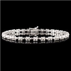 18K Gold 1.25ctw Diamond Bracelet