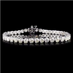 14K Gold 6.25ctw Diamond Bracelet
