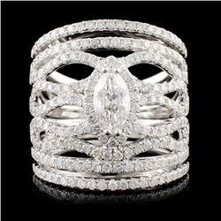 14K Gold 2.30ctw Diamond Ring