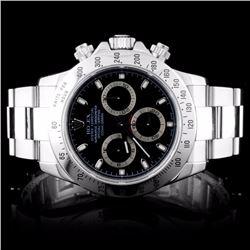 Rolex SS Daytona Men's Wristwatch