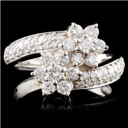 14K Gold 1.34ctw Diamond Ring