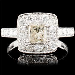 14K Gold 1.21ctw Diamond Ring