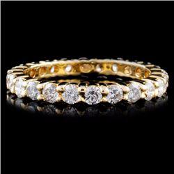 14K Gold 1.22ctw Diamond Ring