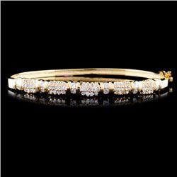 14K Gold 1.31ctw Diamond Bracelet