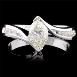 14K Gold 0.96ctw Diamond Ring