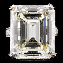 18K Gold 24.81ctw Diamond Ring