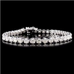 `14K Gold 7.00ctw Diamond Bracelet