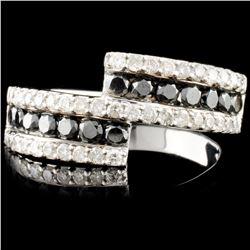 14K Gold 1.19ctw Fancy Color Diamond Ring