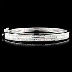 14K Gold 1.44ctw Diamond Bracelet