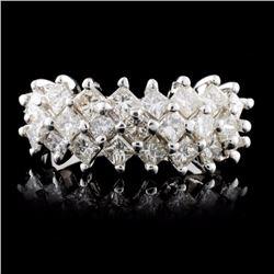 18K White Gold 2.47ct Diamond Ring