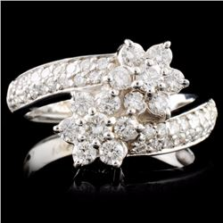 14K Gold 1.34ctw Diamond Ring