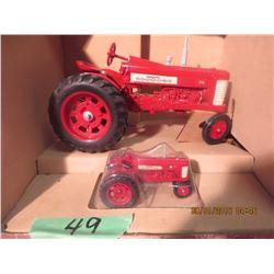 1/16 Scale Farmall 350 w/ 1/64 350 #630