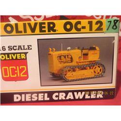 1/16 Scale Oliver OC-12 Diesel Crawler Spec Cast