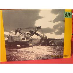 1/87 Scale P+H Electric Mining Shovel