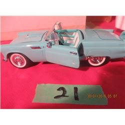 1/24 Scale 1956 Ford Thundebird by Franklin Mint