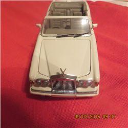 1/24 Scale 1992 Rolls Royce by Franklin Mint