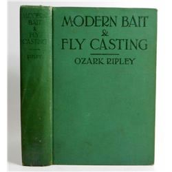 "1928 ""MODERN BAIT AND FLY CASTING"" HARDCOVER BOOK"