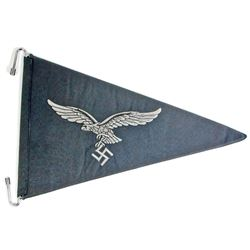 GERMAN NAZI LUFTWAFFE FLIGHT OFFICERS STAFF CAR PENNANT