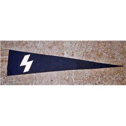 GERMAN NAZI DEUTSCHES JUNGEN DJ BANNER PENNANT FLAG
