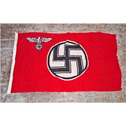 GERMAN NAZI POLITICAL GOVERNMENT STATE SERVICE FLAG
