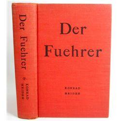 """1944 """"DER FUEHRER"""" HARDCOVER BOOK"""