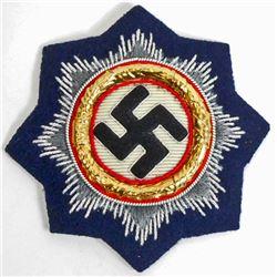 GERMAN NAZI NAVAL CLOTH GERMAN CROSS IN GOLD