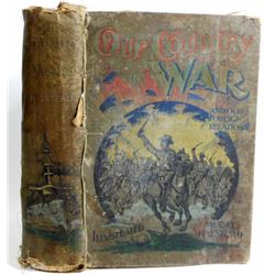 """1898 """"OUR COUNTRY WAR"""" HARDCOVER BOOK"""