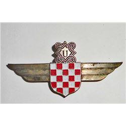 GERMAN CROATION LUFTWAFFE AXIS PILOT WING