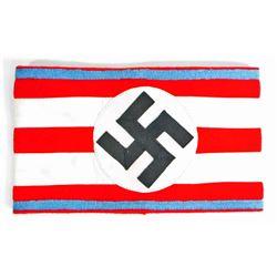 GERMAN NAZI NSDAP POLITICAL SA ORTS OFFICERS SWASTIKA ARMBAND