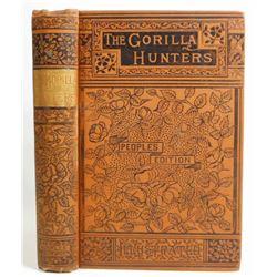 "ANTIQUE ""THE GORILLA HUNTERS"" HARDCOVER BOOK"