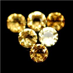 LOT OF 4.81 CTS OF GOLDEN YELLOW BRAZILIAN CITRINES