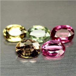 LOT OF 2.90 CTS OF FANCY COLOR NIGERIAN TOURMALINES
