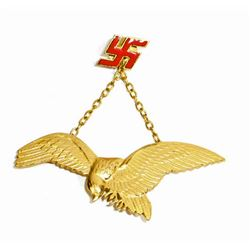 GERMAN NAZI HUNGARIAN LUFTWAFFE AXIS PILOT BADGE