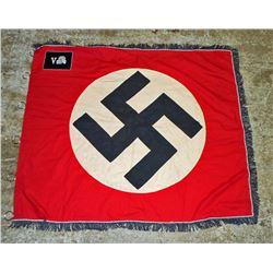 GERMAN NAZI WAFFEN SS TOTENKOPF STANDARTE SWASTIKA BANNER FLAG