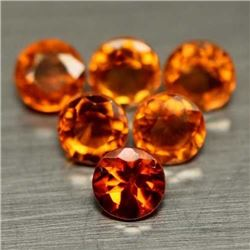 LOT OF 13.52 CTS OF ORANGE AFRICAN HESSONITE GARNETS - 33 PIECES