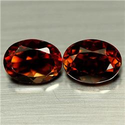PAIR OF 3.40 CTS OF CHAMPAGNE BRAZILIAN TOPAZ