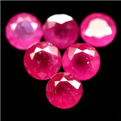 LOT OF 14.65 CTS OF RED MADAGASCAR RUBIES