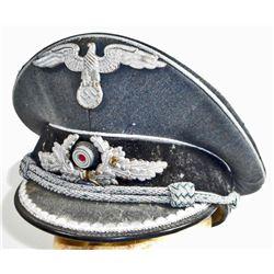 GERMAN NAZI DIPLOMATIC // GOVERNMENT OFFICIALS OFFICERS VISOR CAP