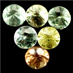 LOT OF 7.48 CTS OF FANCY COLOR SONGEA AFRICAN SAPPHIRES