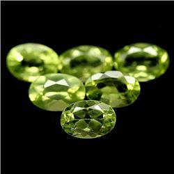 LOT OF 7.04 CTS OF GREEN PAKISTAN PERIDOT