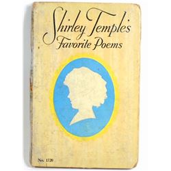 "1926 ""SHIRLEY TEMPLES FAVORITE POEMS"" HARDCOVER BOOK"