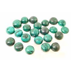 LOT OF 102.5 CTS OF GREEN MALACHITE