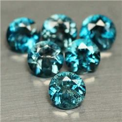 LOT OF 2.89 CT BLUE BRAZILIAN TOPAZ
