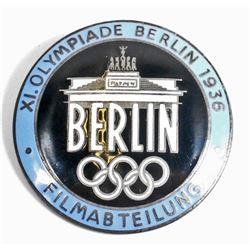 GERMAN NAZI BERLIN SUMMER OLYMPICS FILM MAKERS BADGE