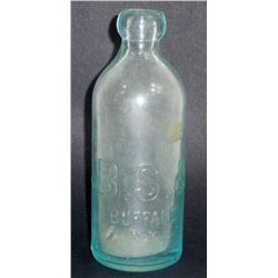 ANTIQUE B.S.& M.W.CO BLOB TOP BOTTLE - BUFFALO NY