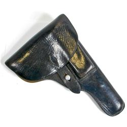 GERMAN NAZI WAFFEN SS WALTHER P-38 LEATHER PISTOL HOLSTER