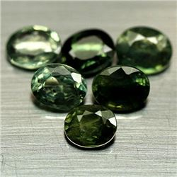 LOT OF 7.19 CTS OF GREEN SONGEA AFRICAN SAPPHIRES