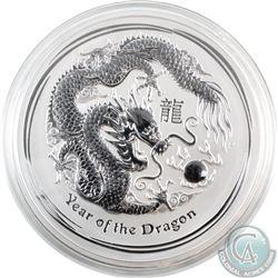 Australia 2000 Australia Kilo (32.15oz.) .999 Fine Silver Year of the Dragon Silver Coin (TAX Exempt