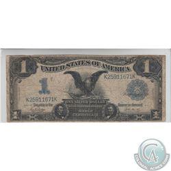 United States 1899 USA $1 note. FR#232, S/N: K25911671K, Fine