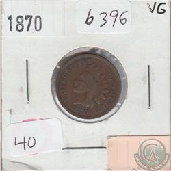 United States 1870 Cent in Very Good